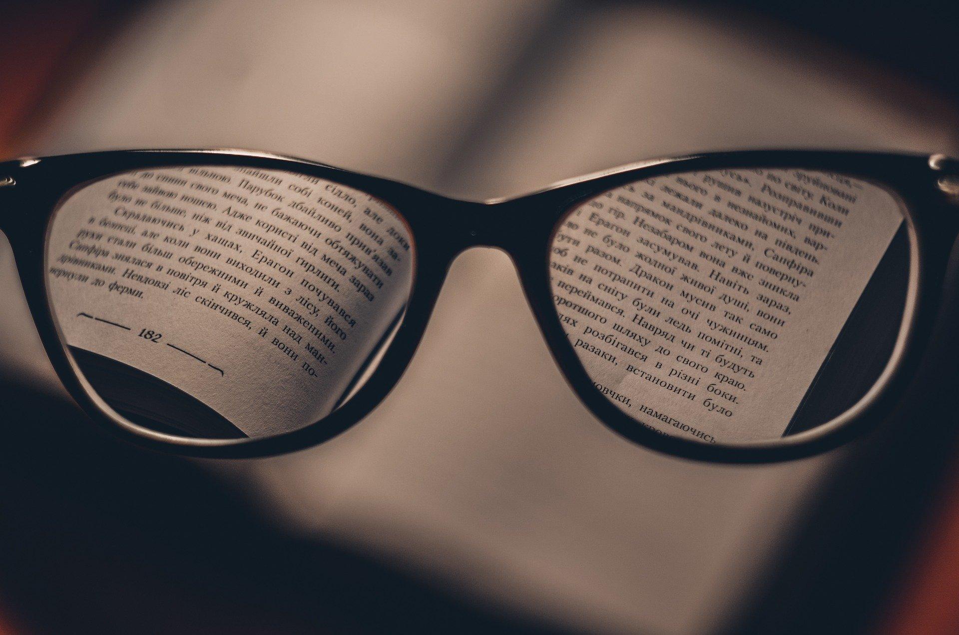 Des lunettes pour lire une nouvelle langue